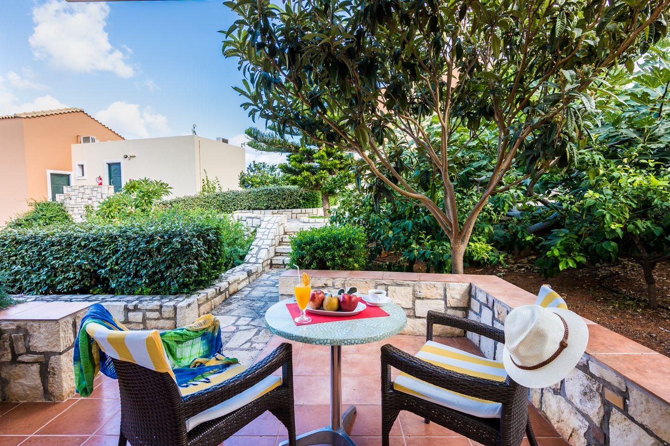 Garden Suite Terrace - Pilots Villas Hersonissos Crete