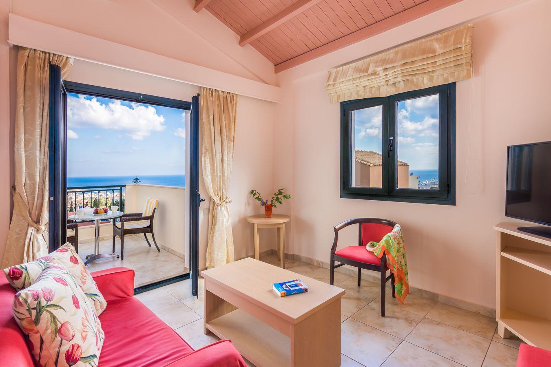 Penthouse Suite Interior - Pilots Villas Hersonissos Crete
