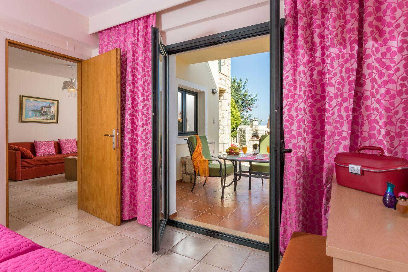 Garden Suite overview - Pilots Villas Hersonissos Crete